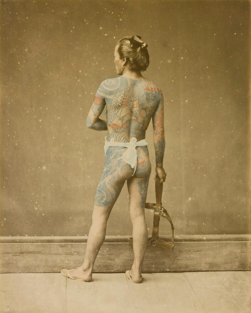 06 Japanese Irezumi By Baron Stillfried