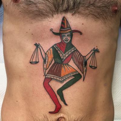 Court Jester Tattoo