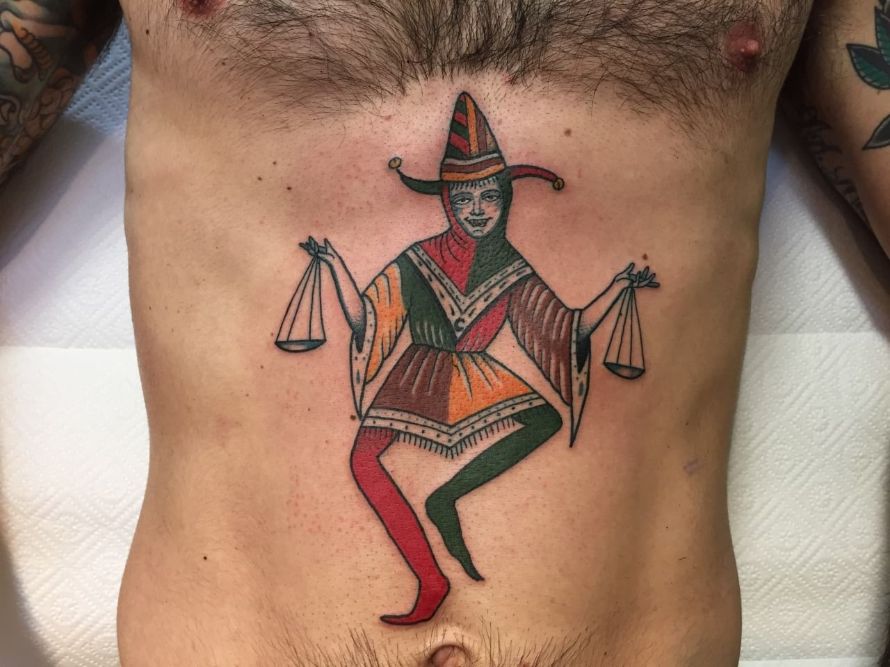 Court Jester Tattoo