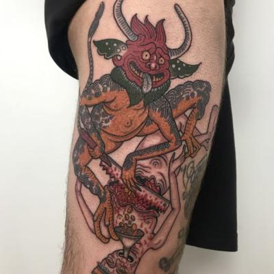 Greed Tattoo