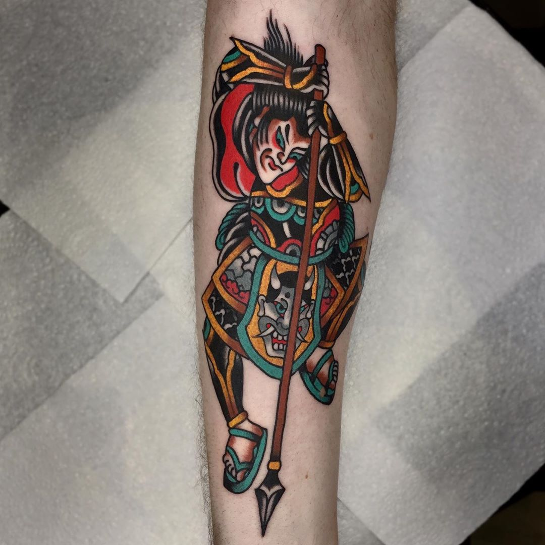Samurai for Adam! More Japanese would be grand ???? lukejinks@gmail.com for bookings. Cheers!
