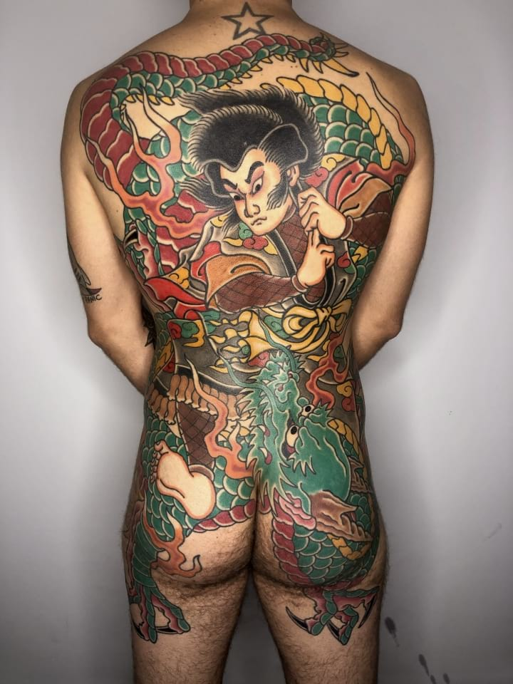 Japanese Backpiece Tattoo