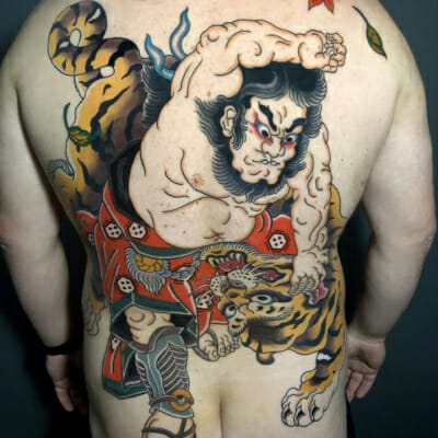 Japanese Backpiece Tattoo