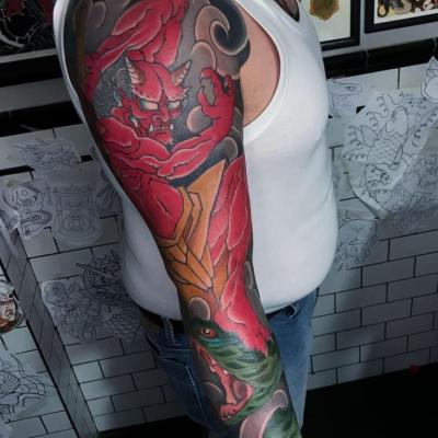 Japanese God Tattoo