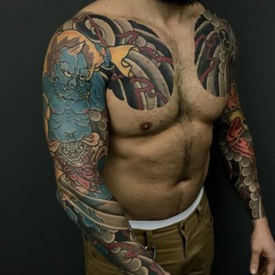 Japanese Sleeve Tattoos 2
