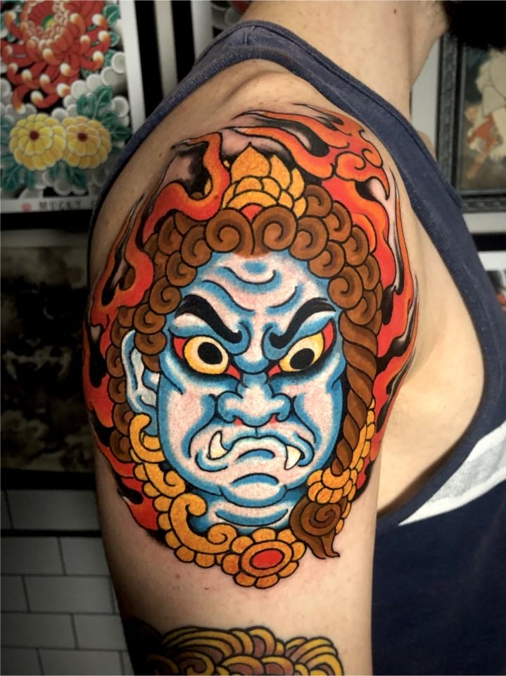 Japanese Tattoo Foo Do Mai
