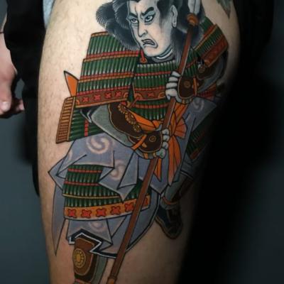 Japanese Tattoo Kuniyoshij