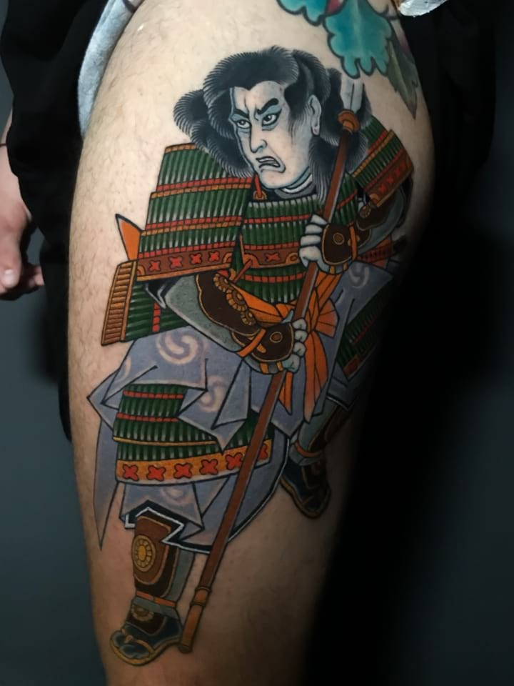 Japanese Tattoo Kuniyoshij