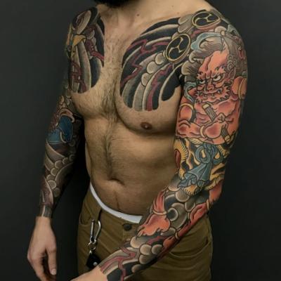 Japanese Tattoo Sleeves 2
