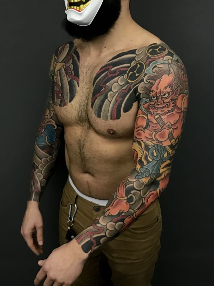Japanese Tattoo Sleeves 2