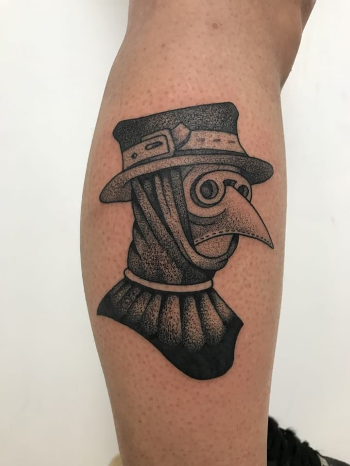 Plague Doctor Tattoo