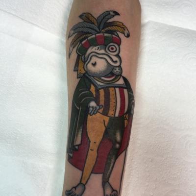 Royal Frog Tattoo
