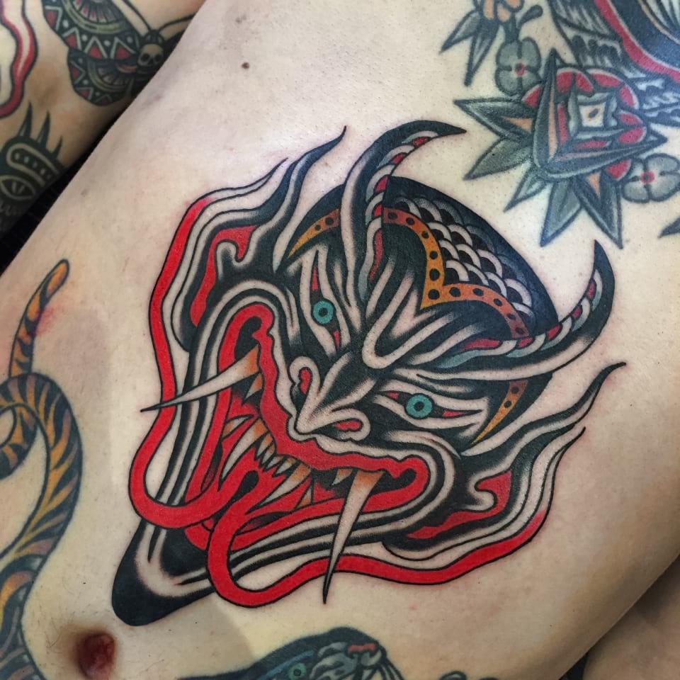 Traditional Traditional Devil Head TattooDevil Head Tattoo