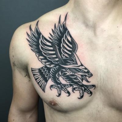 Traditional Tattoo Eagle
