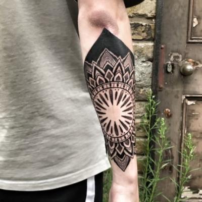 Geometric Tattoo Mandala 3