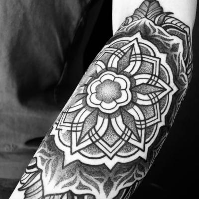 Geometric Tattoo Mandala