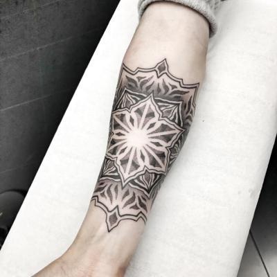 Geometric Tattoo Mandala 5