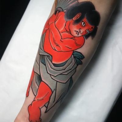 Golden Boy Tattoo