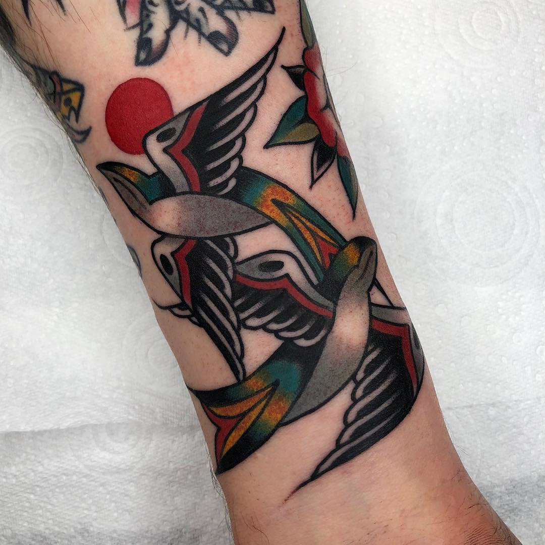 hugh sheldon traditional tattoo artist london 8