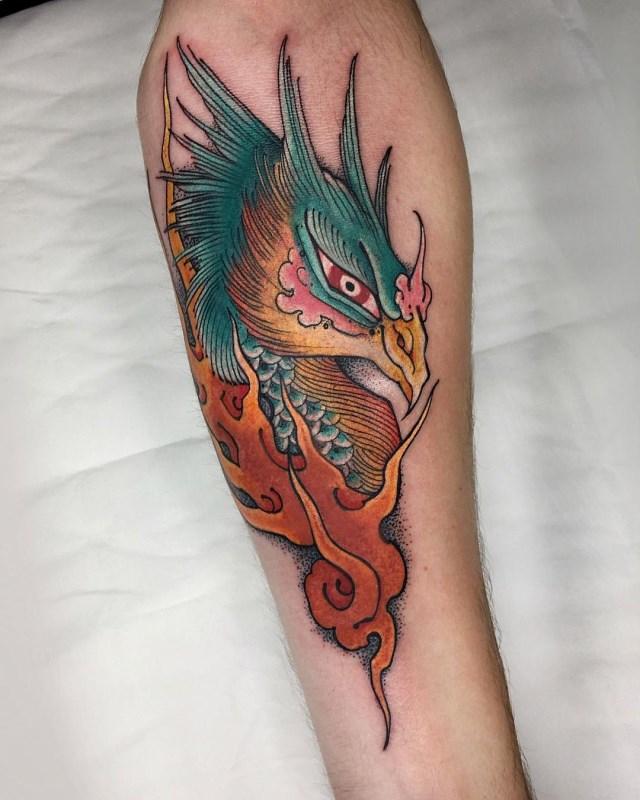 Japanese Phoenix 2 Tattoo 002 640W