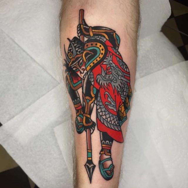 Japanese Samuari 2 Tattoo 002 640W