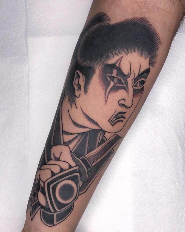 Japanese Samuari 5 Tattoo 005 640W