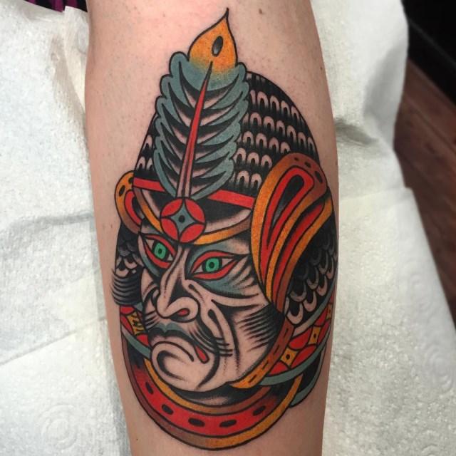 Japanese Samurai 7 Tattoo 007 640W