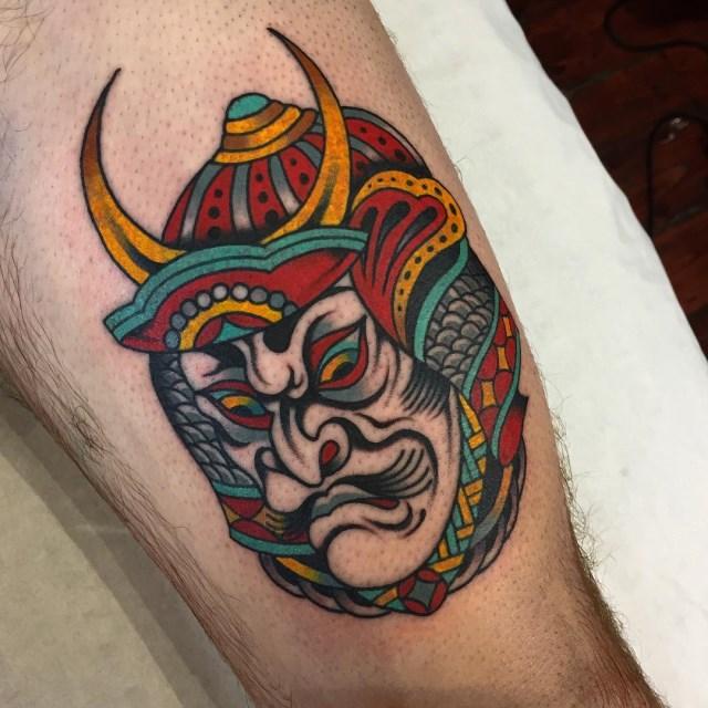 Japanese Samurai 8 Tattoo 008 640W