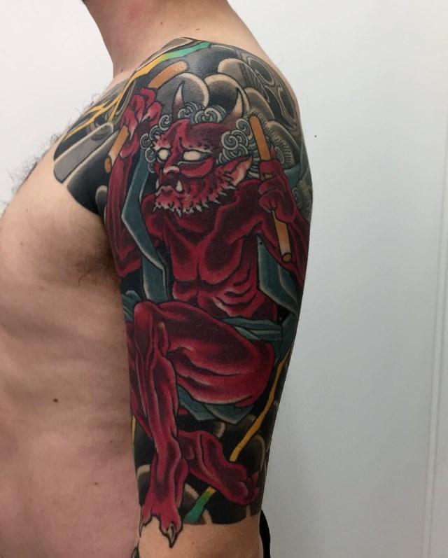 Japanese Deities Tattoo 02 640W