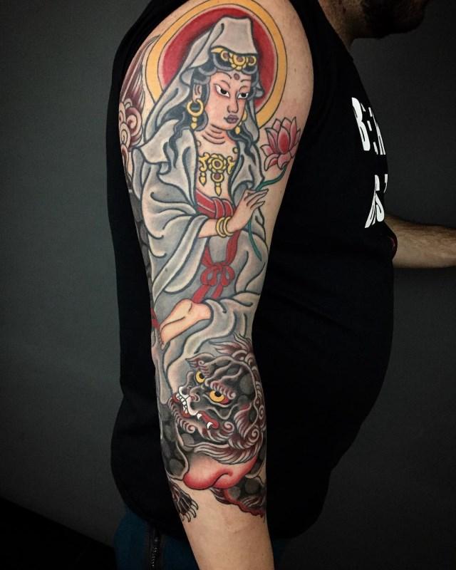 Japanese Deities Tattoo 03 640W