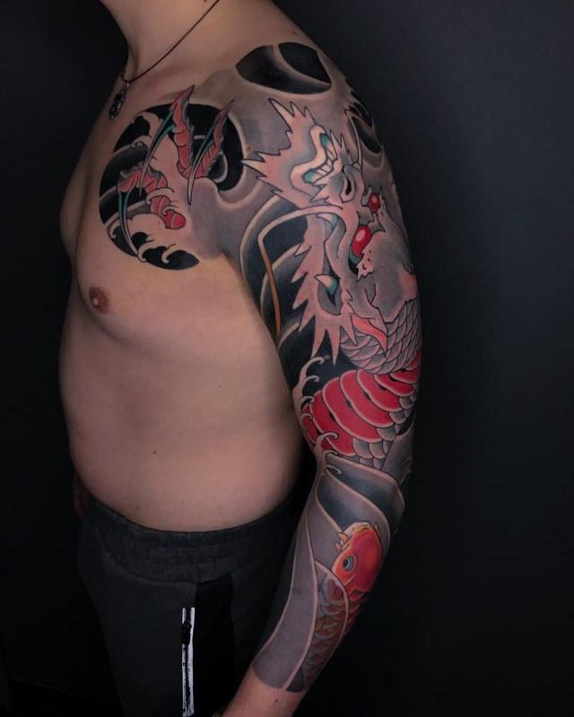 Japanese Dragon Tattoo 02A 640W