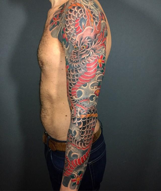 Japanese Dragon Tattoo 03 640W