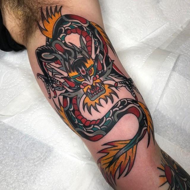 Japanese Dragon Tattoo 04 640W
