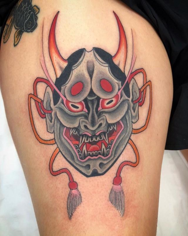 Japanese Hannya Tattoo 005 640W
