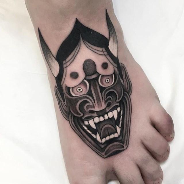 Japanese Hannya Tattoo 006 640W