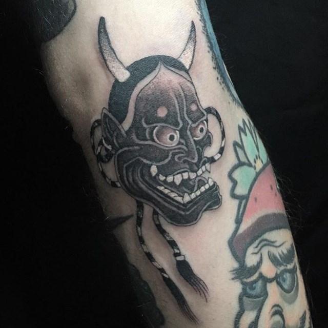 Japanese Hannya Tattoo 010 640W