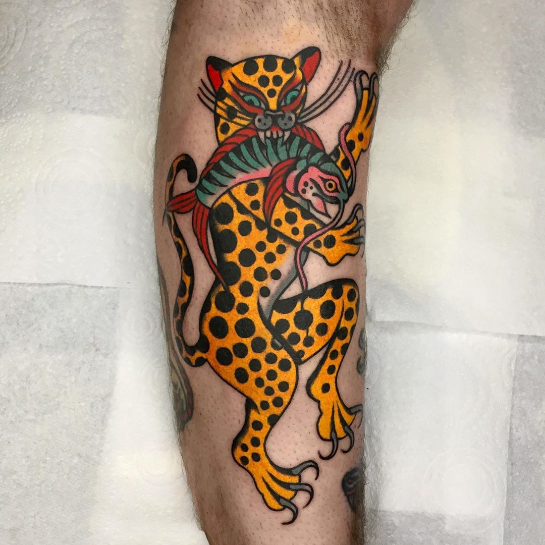luke jinks traditional tattoo artist london 9