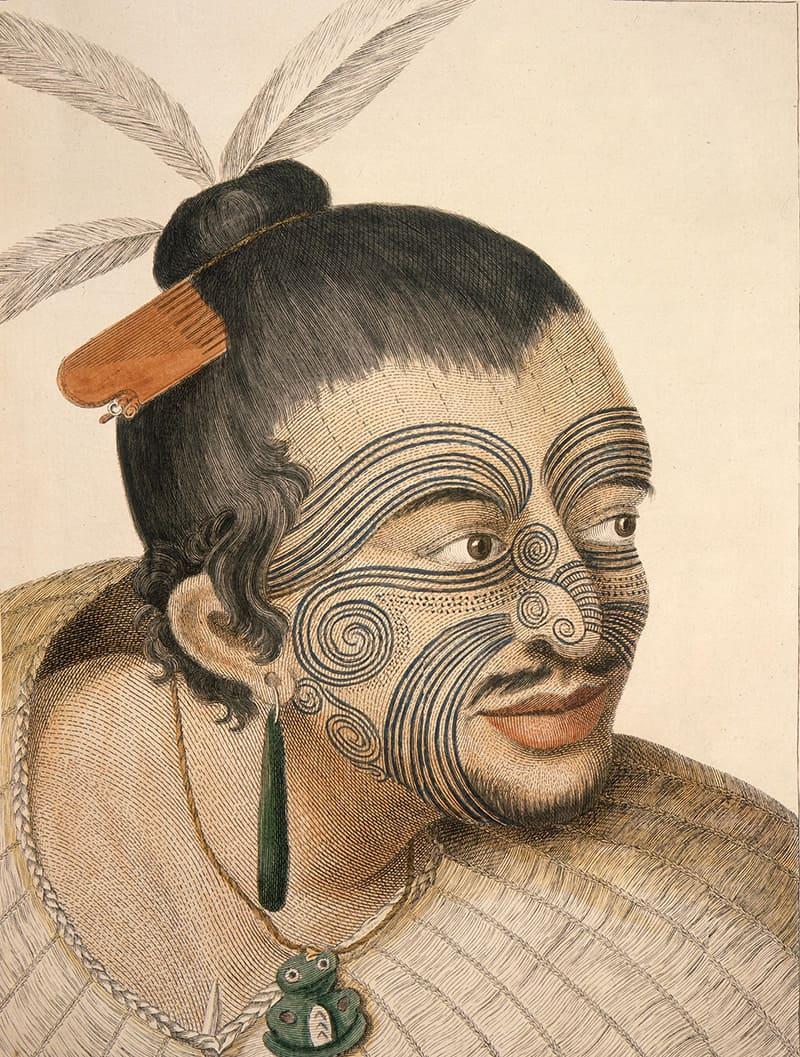 Maori Chief Tattoo