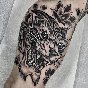 Michelich Black and Grey Tattoos