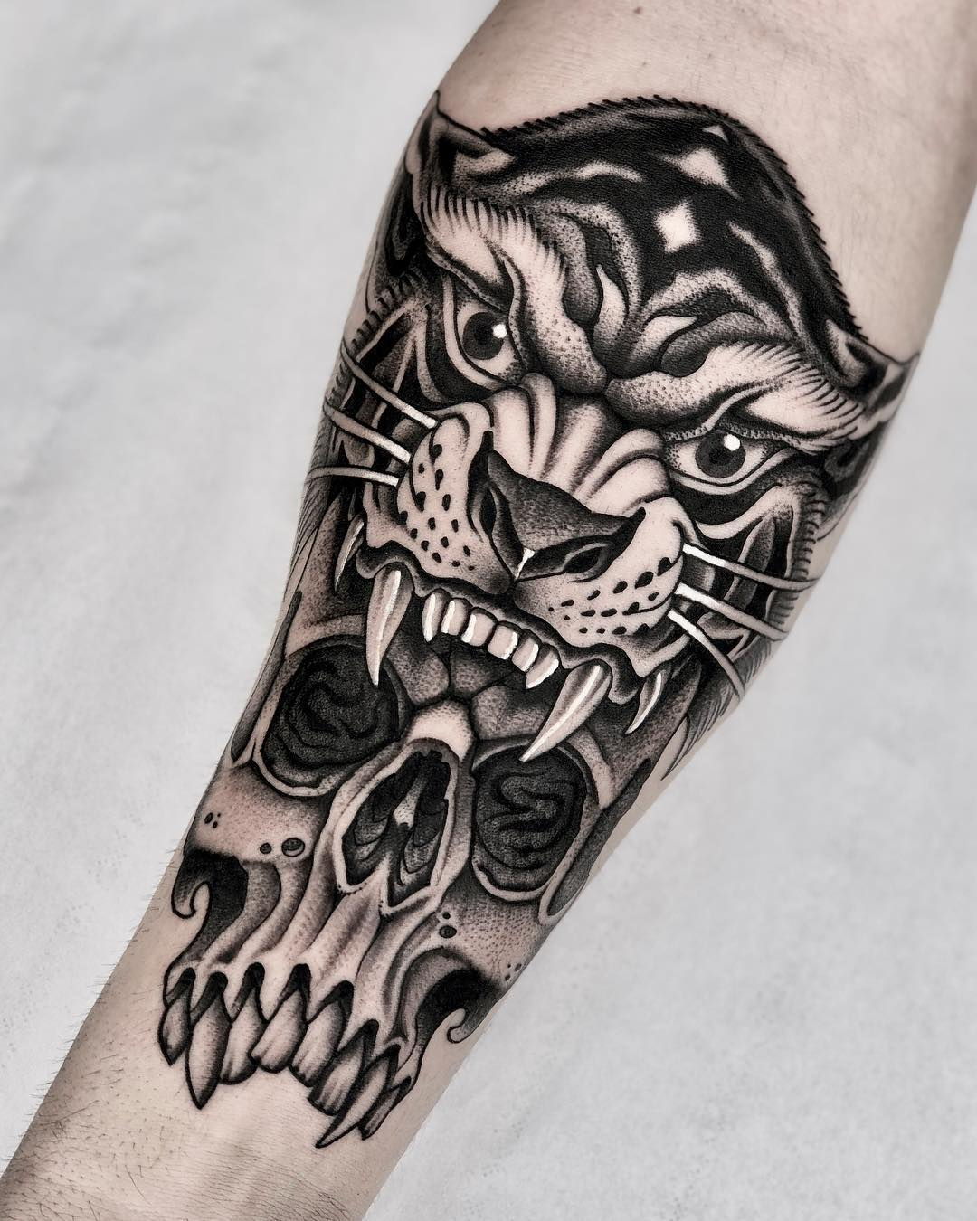 michelich black and grey tattoo artist london 03