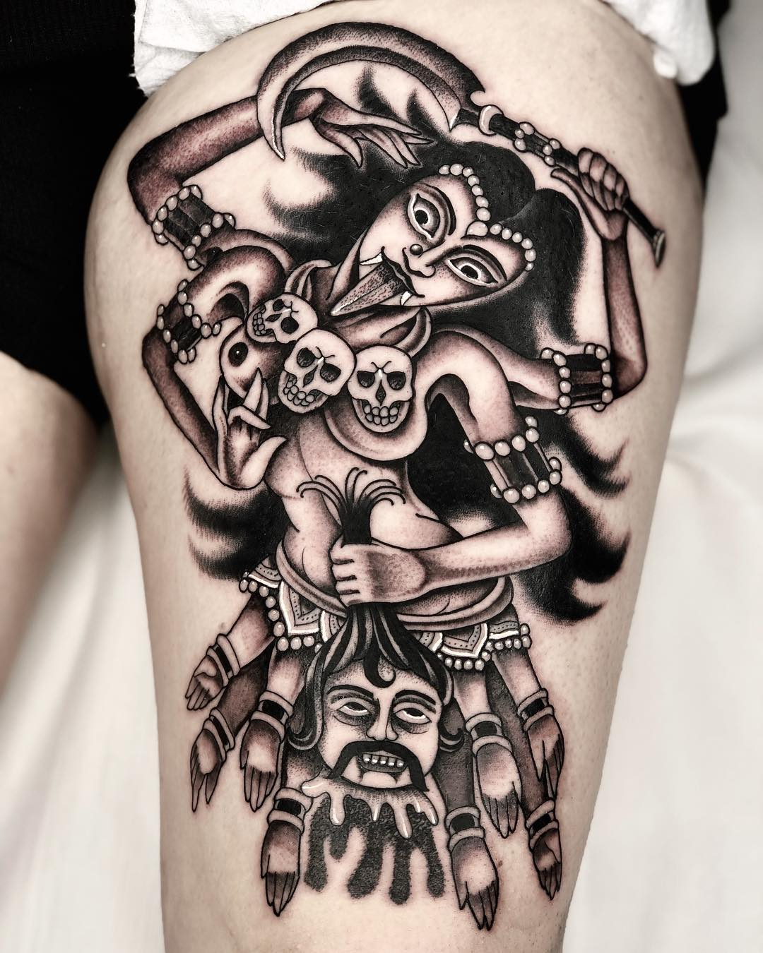 michelich black and grey tattoo artist london 04