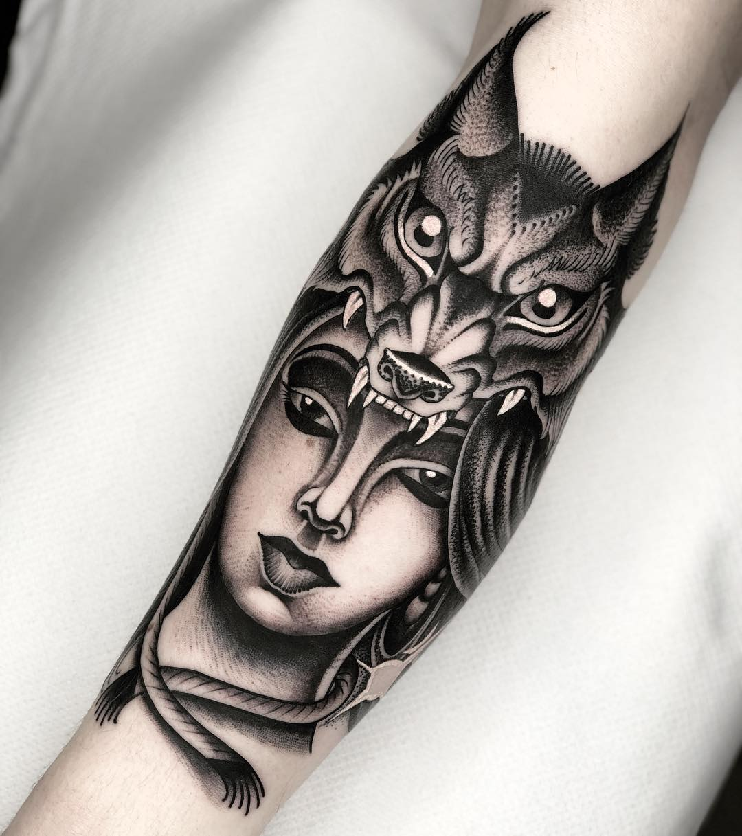 michelich black and grey tattoo artist london 12