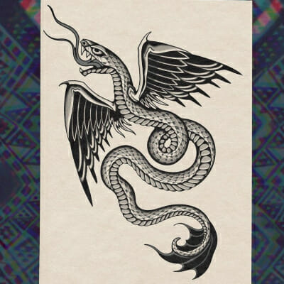 Tattoo Flash Cloak Dagger London 05