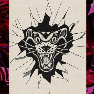 Tattoo Flash Cloak Dagger London 06