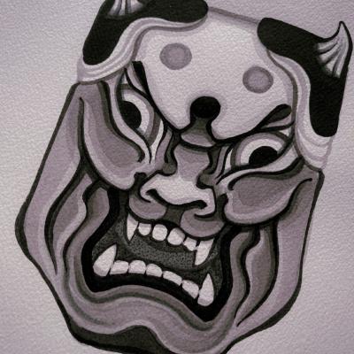 Tattoo Flash Cloak Dagger London 36
