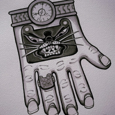 Tattoo Flash Cloak Dagger London 39