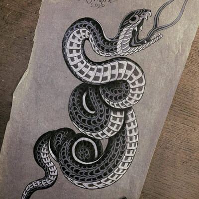 Tattoo Flash Cloak Dagger London 45