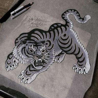Tattoo Flash Cloak Dagger London 49