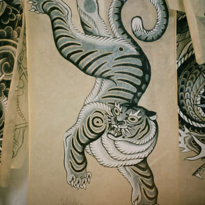 Tattoo Flash Cloak Dagger London 54