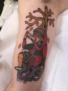 Time Waster Tattoo